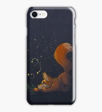 Firefly Fox - Orange iPhone Case/Skin
