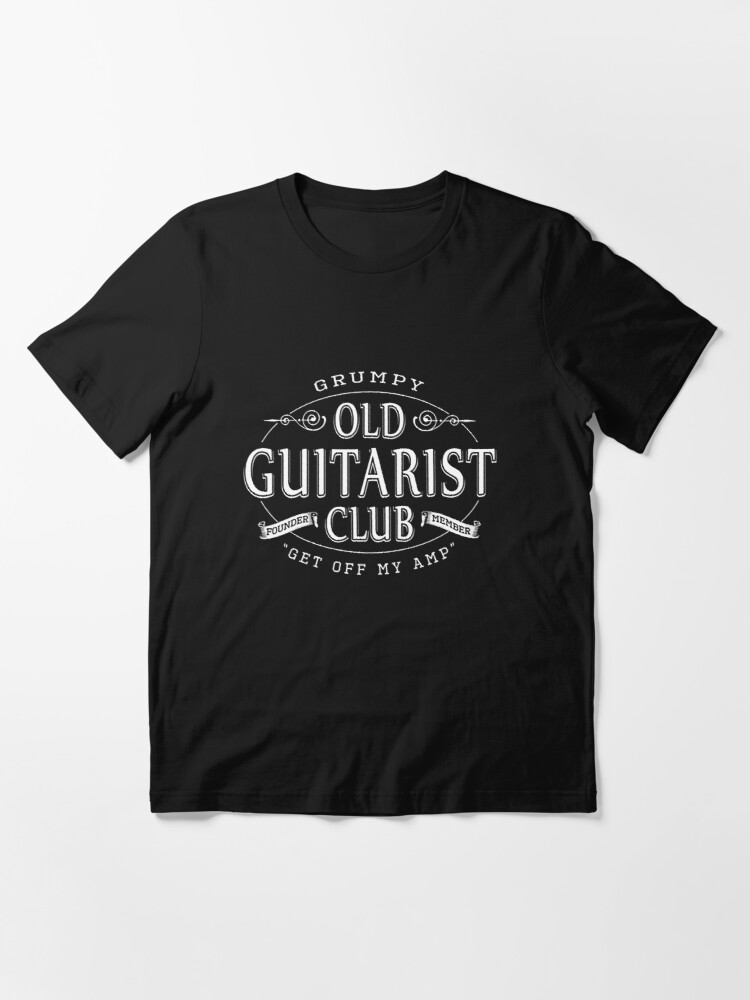 Alternate view of Grumpy Old Guitarist Club - Music Essential T-Shirt