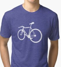 Fixie Road Bike Tri-blend T-Shirt