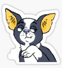 Iggy- smug Sticker
