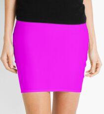 Ultimate Magenta Solid Color Mini Skirt
