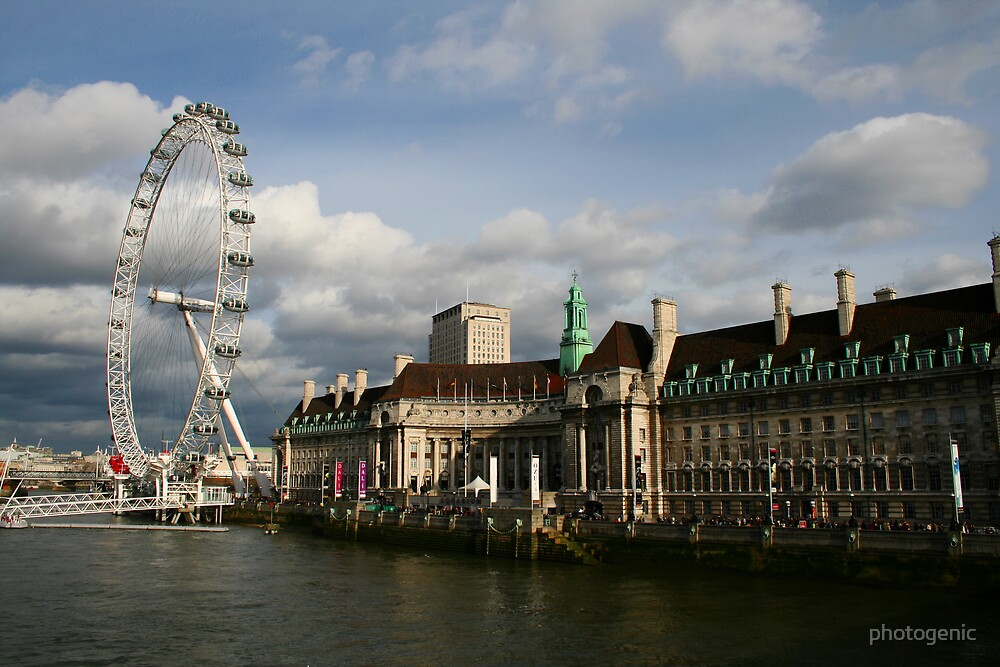 the eye of london by photogenic