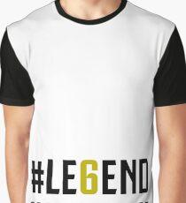 JUVENTUS #LE6END scudetto white Graphic T-Shirt