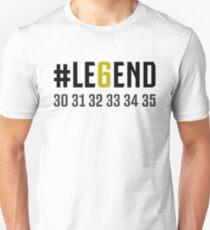 JUVENTUS #LE6END scudetto white Unisex T-Shirt