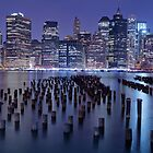 New York Skyline by Delfino