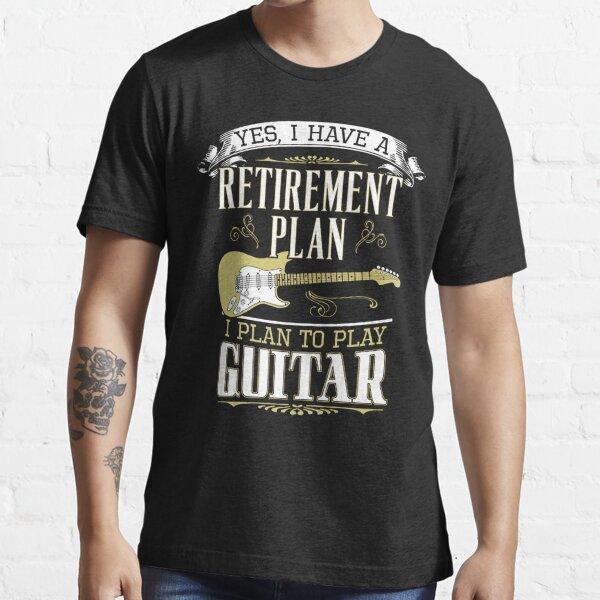 vous ne serez jamais aussi cool qu'un bassiste. Le plus tôt vous vous en rendez compte, mieux c'est. Couleur noire également disponible sur les t-shirts de couleur claire. Version guitare basse complète également disponible en noir et blanc. Découvrez la T-shirt essentiel