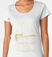 Guitar - Retirement Plan Women's Premium T-Shirt