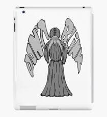Don't Blink Weeping Angel iPad Case/Skin