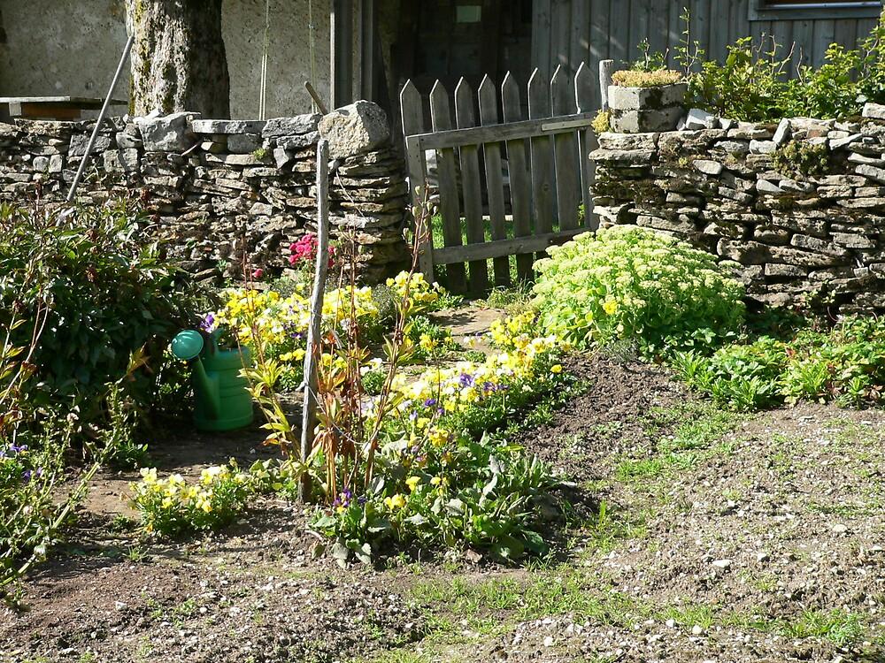 Rustic Swiss Garden by amao1202