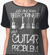 Guitar Problem Chiffon Top