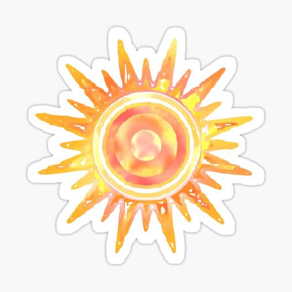 Brillo Solar Pegatina
