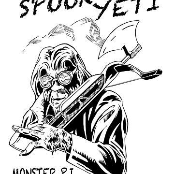Spook Yeti, Monster P.I. by robyeti