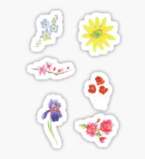 Floral Collection Pack Sticker