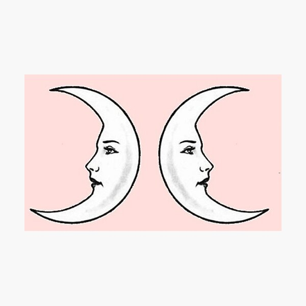 Pink Moons Photographic Print
