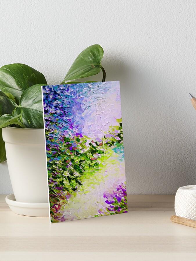 Impression rigide « PARADIS DREAMING, COOL OASIS Coloré Printemps ...