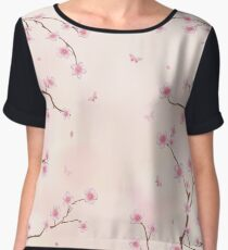 Cherry Blossom Dream Women's Chiffon Top