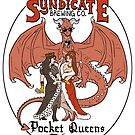 The Syndicate - Pocket Queens Pilsner by lightningmoth