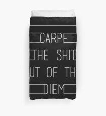 Carpe Diem Duvet Cover