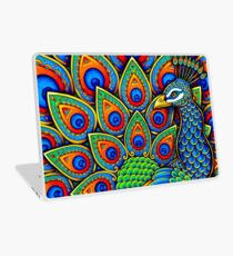 Colorful Paisley Peacock Bird Laptop Skin