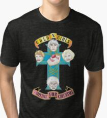 "Gold N Girls ""Appetite for Cheesecake"" Shirt Tri-blend T-Shirt"
