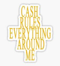 C.R.E.A.M. Sticker