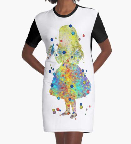 Drink Me - Alicia en el país de las maravillas - Acuarela Vestido camiseta