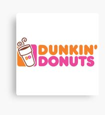 Dunkin Donuts Canvas Print
