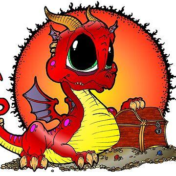 Baby Dragon by Skree