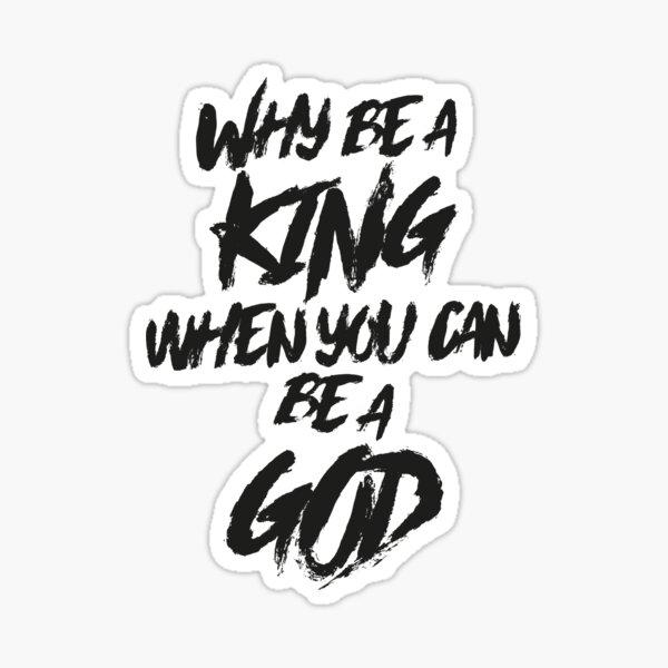 EMINEM - RAP GOD Sticker