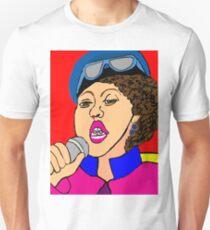 Poly Styrene Digital Illustration  T-Shirt