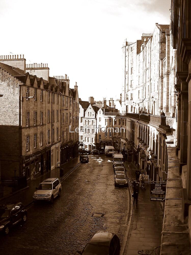 Old Town Edinburgh by Leah Homan