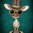 Steampunk-Baby-Giraffe von jeff bartels