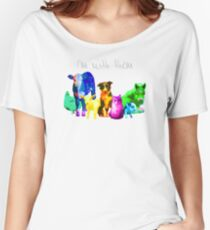 I'm With Them - Animal Rights - Vegan Women's Relaxed Fit T-Shirt