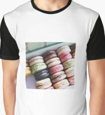 Macarons (Made in France) T-shirt graphique