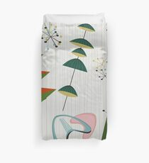 Retro Eames-Era Atomic Inspired Duvet Cover