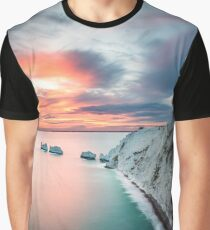 The Needles Sunset Graphic T-Shirt