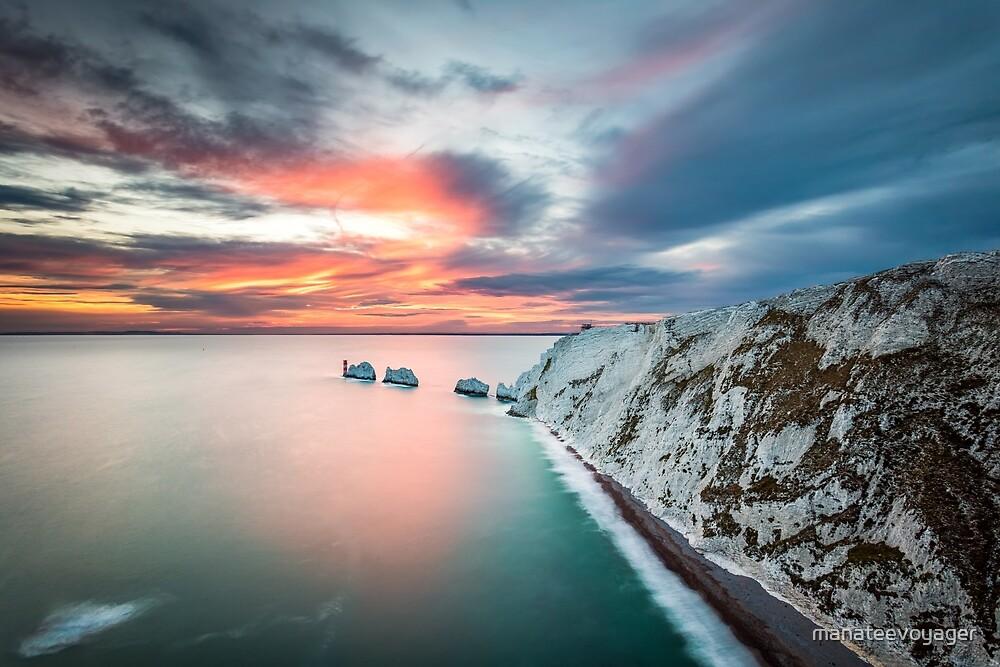 The Needles Sunset by manateevoyager