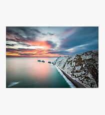 The Needles Sunset Photographic Print