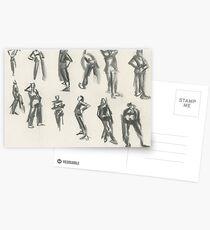 Gesture Postcards
