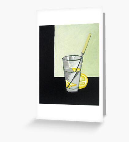 cut glass Greeting Card