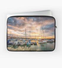 Ryde Harbour Sunbeam Sunset Laptop Sleeve