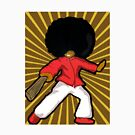 Kung- Fu Hairos Afro Ninja by cottoncandy