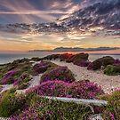 Headon Hill Sunset by manateevoyager
