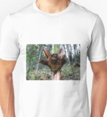 A Downer - Tree Stump In Forest  Unisex T-Shirt