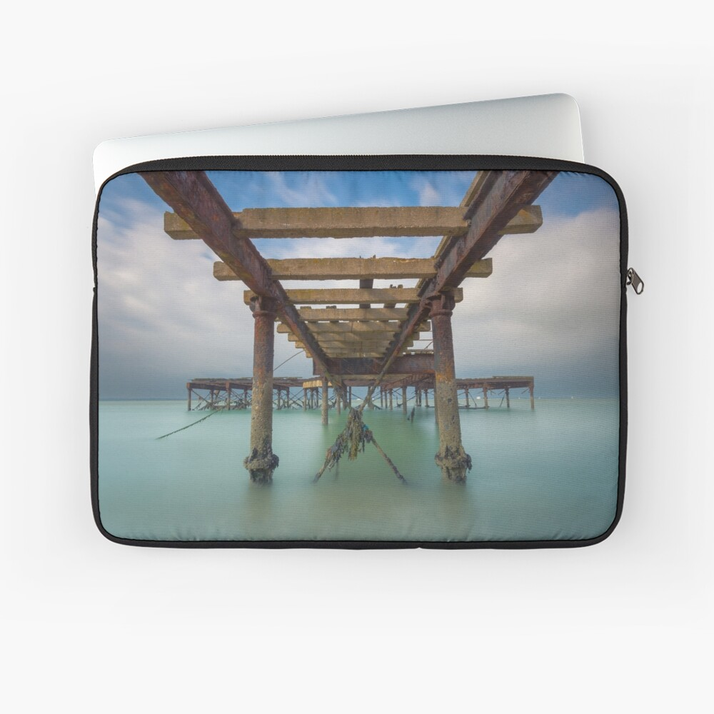 Fort Victoria Pier Laptop Sleeve