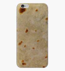 Soft Taco Tortilla texture close-up photo iPhone Case