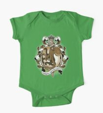 Octopus Coat Of Arms Heraldry One Piece - Short Sleeve