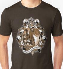 Octopus Coat Of Arms Heraldry Unisex T-Shirt