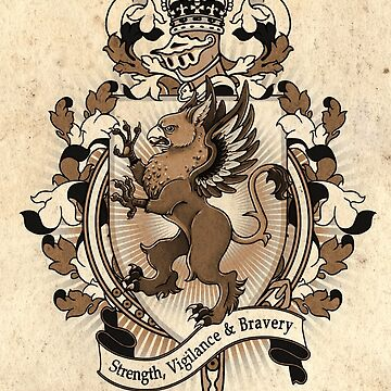 Gryphon Coat Of Arms Heraldry by helloheath