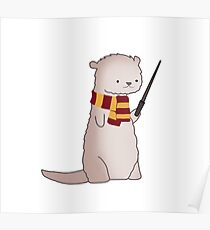 Harry Pawter Otter  Poster
